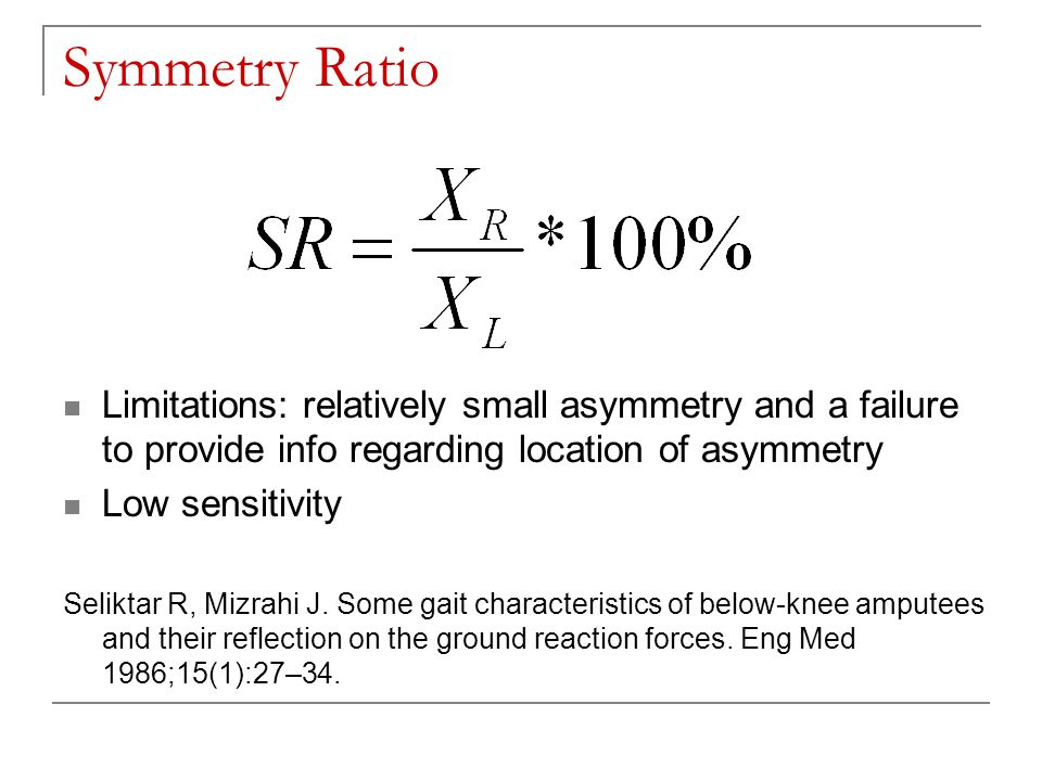 Results – MS Fresh and Fatigued MS subjects generally become more asymmetrical when fatigued * p<.10 These trend symmetry values are on the old scale, where 0=perfect symmetry, 100=no symmetry.
