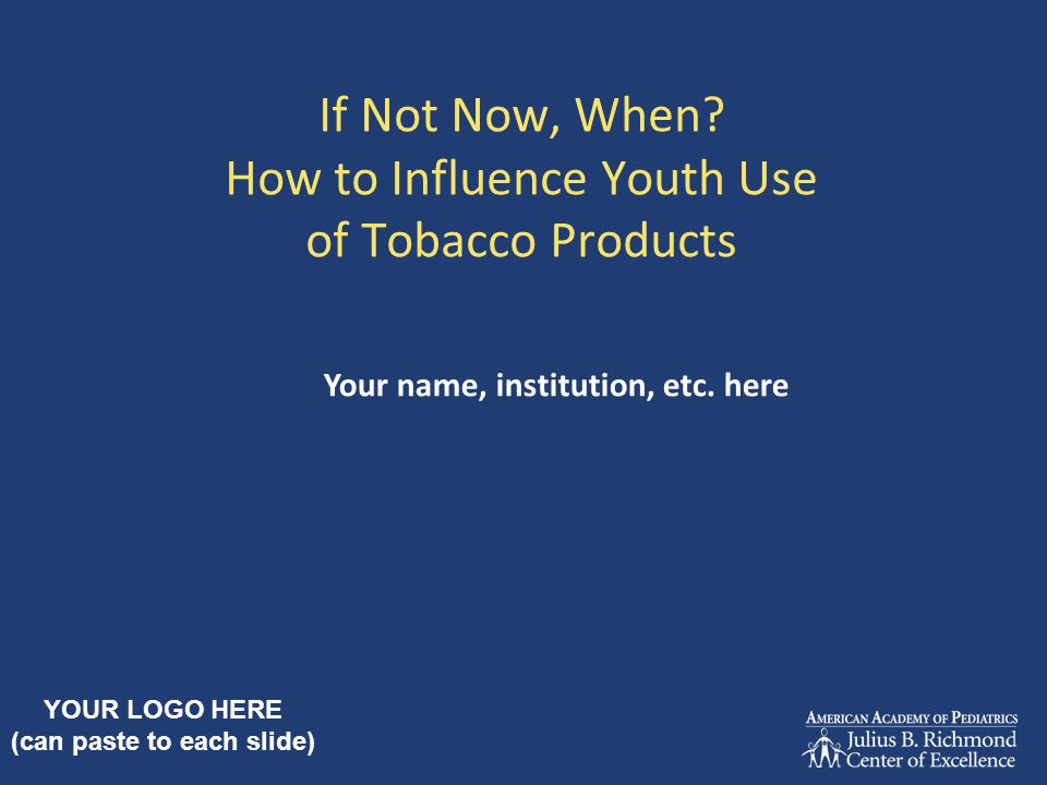 Teen Tobacco Addiction Dependence is more severe if use begins in adolescence Those who begin as teens are more likely to become dependent, use for more years, and user more heavily Increased vulnerability may be due to still- developing brain