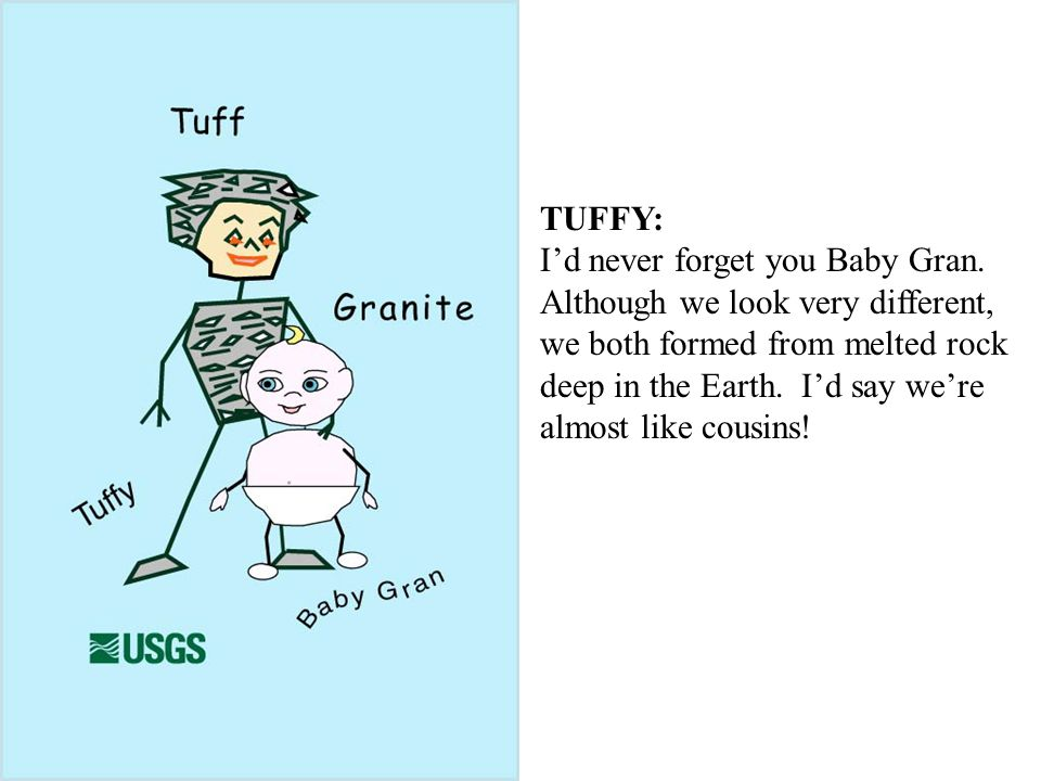 TUFFY: I'd never forget you Baby Gran.