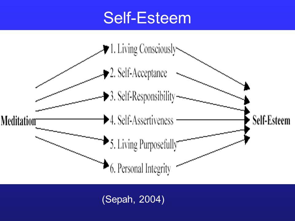 (Sepah, 2004) Self-Esteem