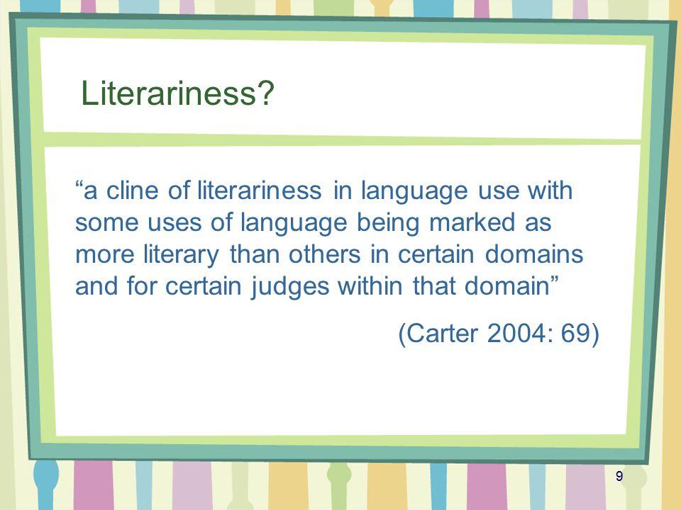 10 Corpus stylistics: corpus linguistics + literary stylistics .