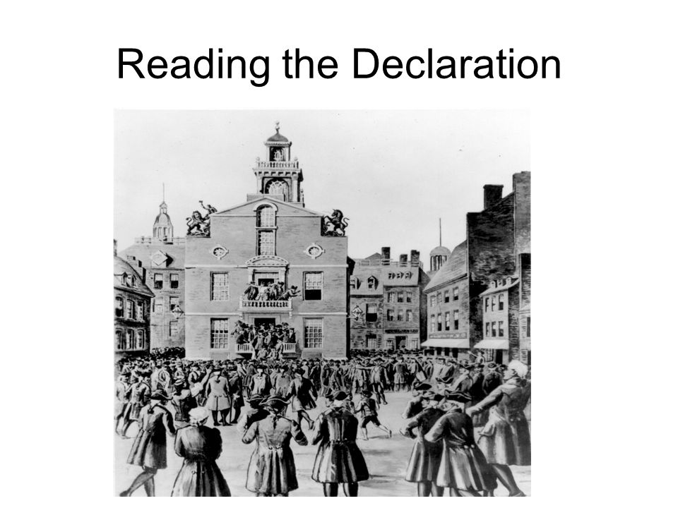 Reading the Declaration
