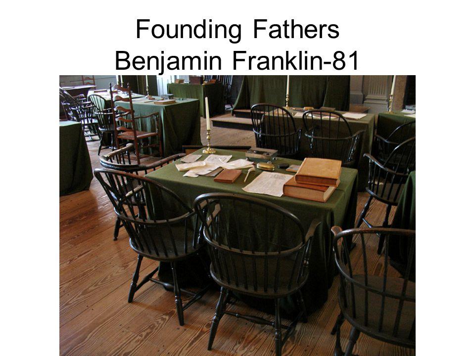 Founding Fathers Benjamin Franklin-81