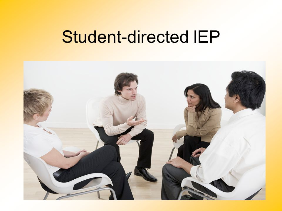 22 Student-directed IEP