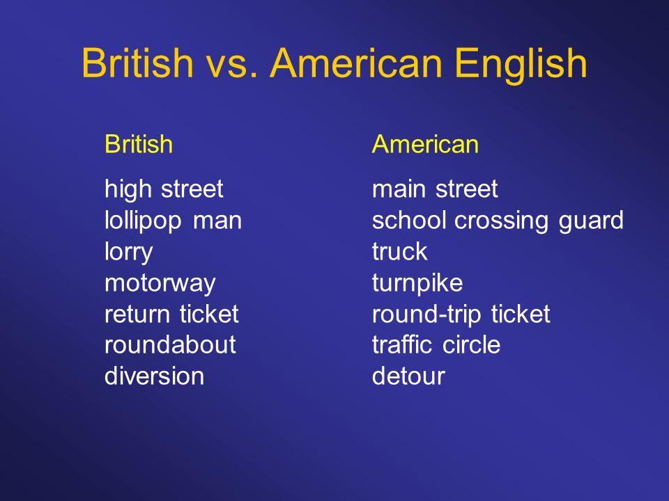 British vs.