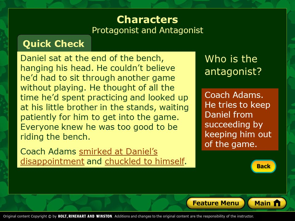 Round characters have many different traits.