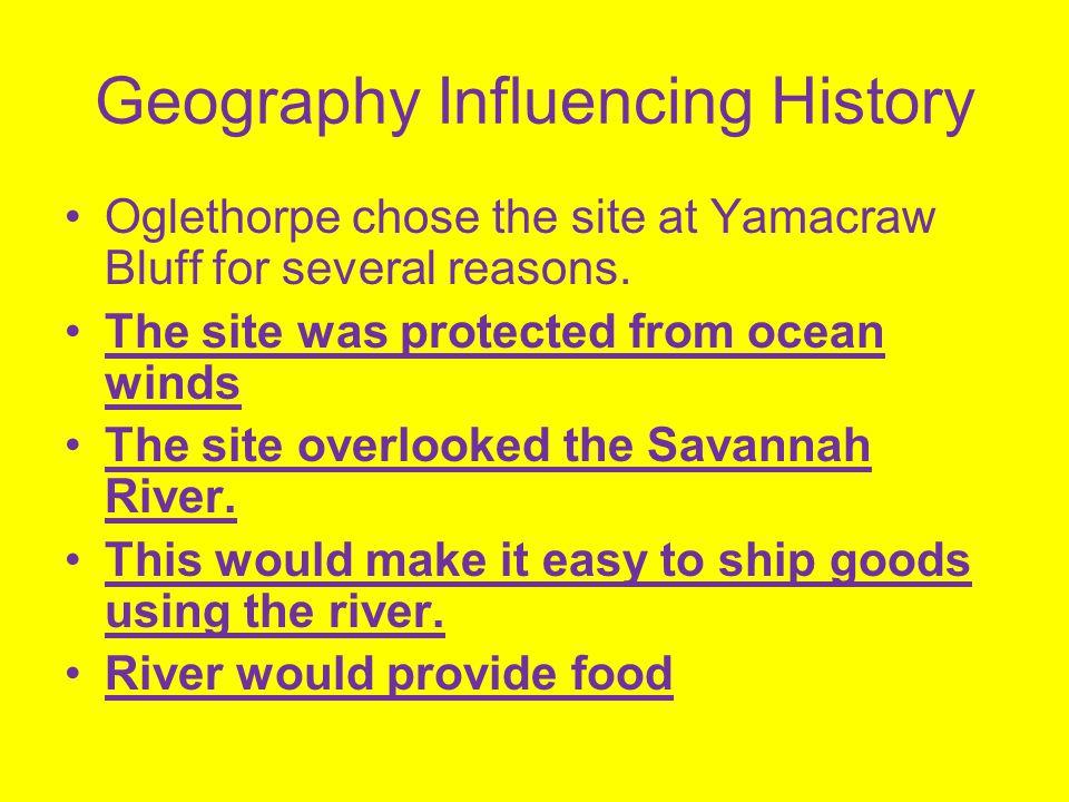 Savannah Settlement at Yamacraw Bluff became Savannah.
