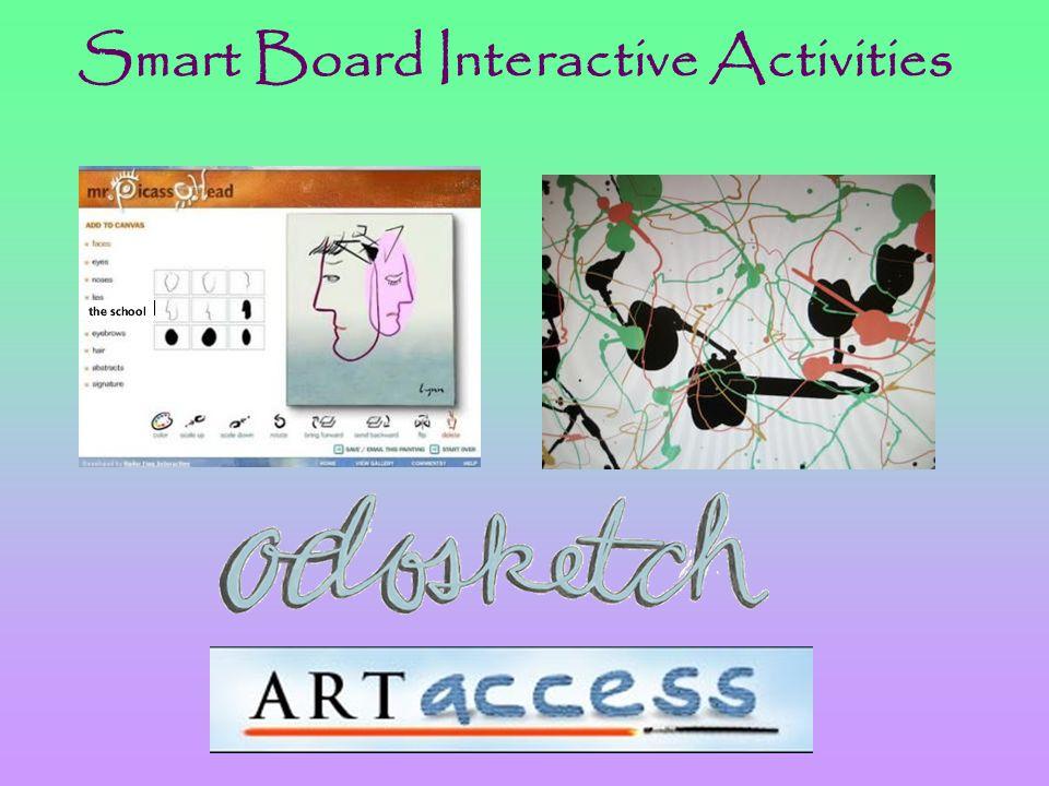 Smart Board Interactive Activities