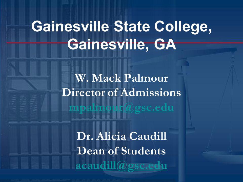Gainesville State College, Gainesville, GA W.
