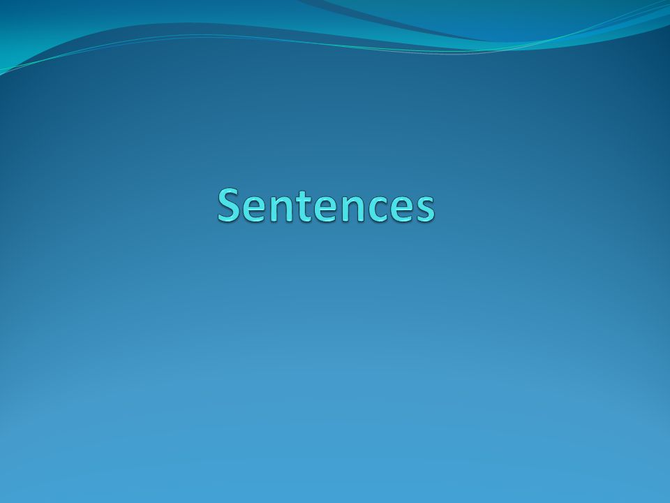 True or false All sentences are the same length.Sentences can end with a question mark.