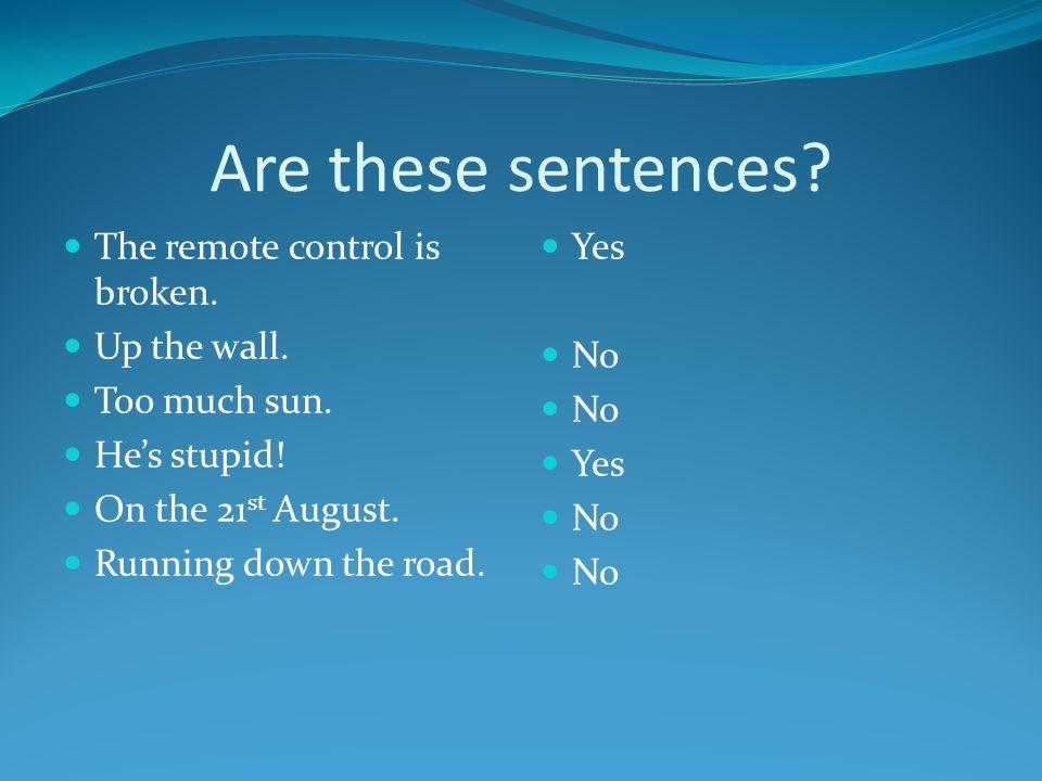 . Run-on sentences & comma splicing