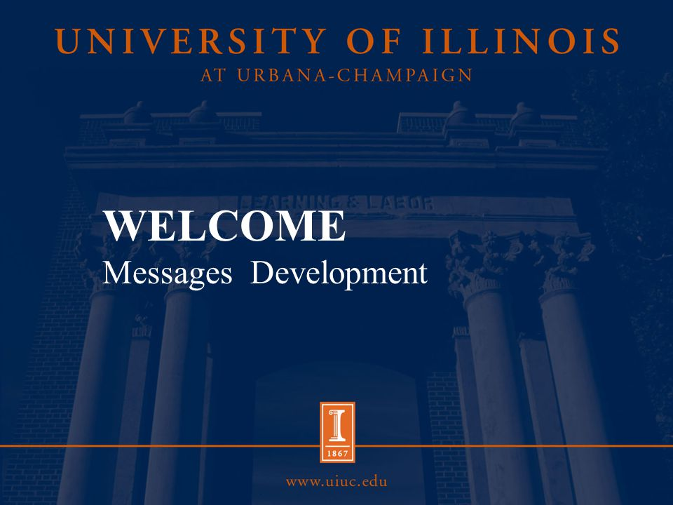 Overview Consistent, frequent messages build familiarity with your constituents (prospective students, alumni, funding agencies, etc.).
