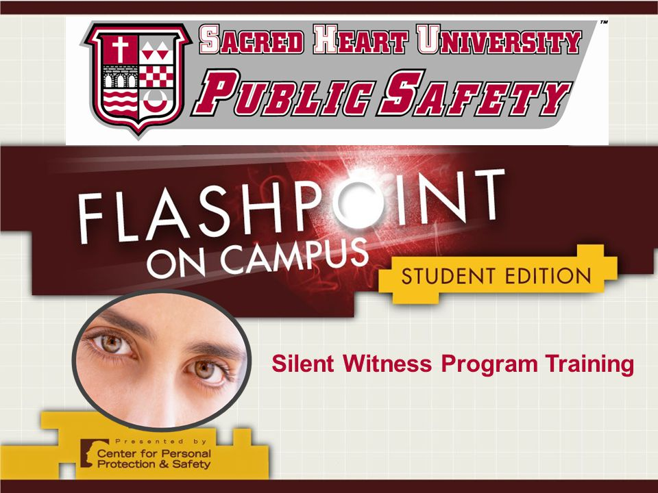 Silent Witness Program Training