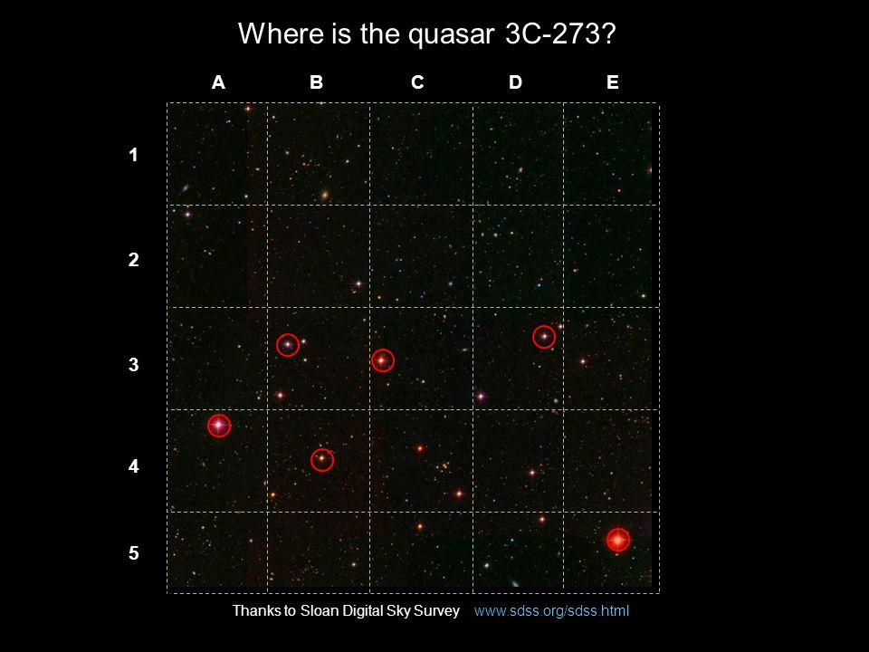 Where is the quasar 3C-273.