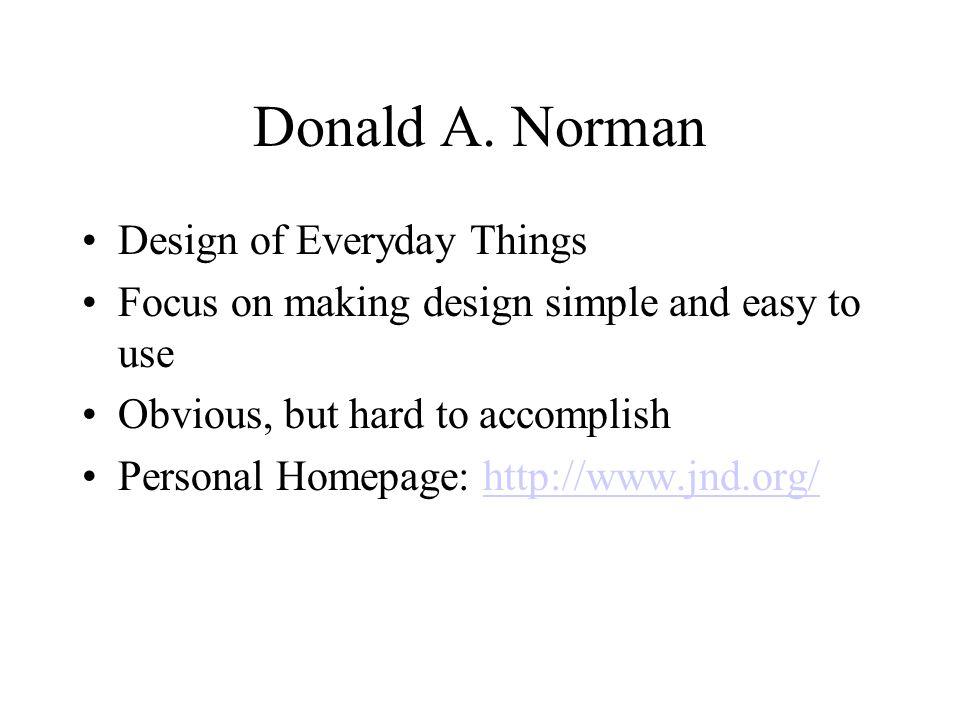 Donald A.