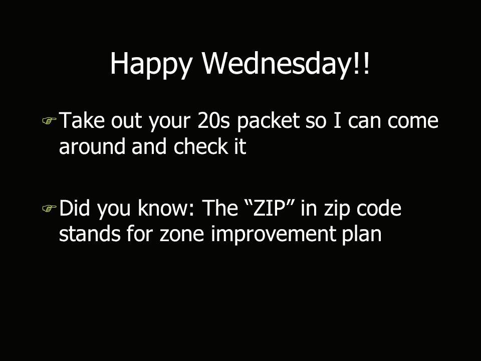 Happy Wednesday!.