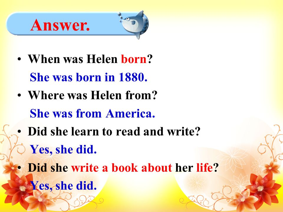 When was Helen born. She was born in 1880. Where was Helen from.