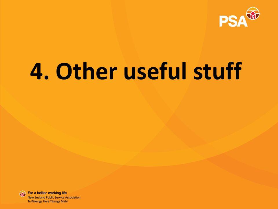 4. Other useful stuff