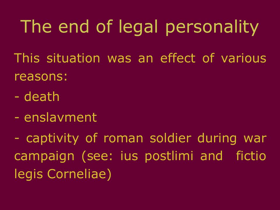 Legal entity Group of people (e.g.corporation) or estate (e.g.