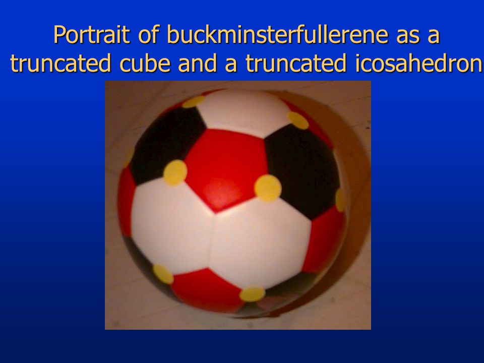 Portrait of buckminsterfullerene as a truncated cube and a truncated icosahedron