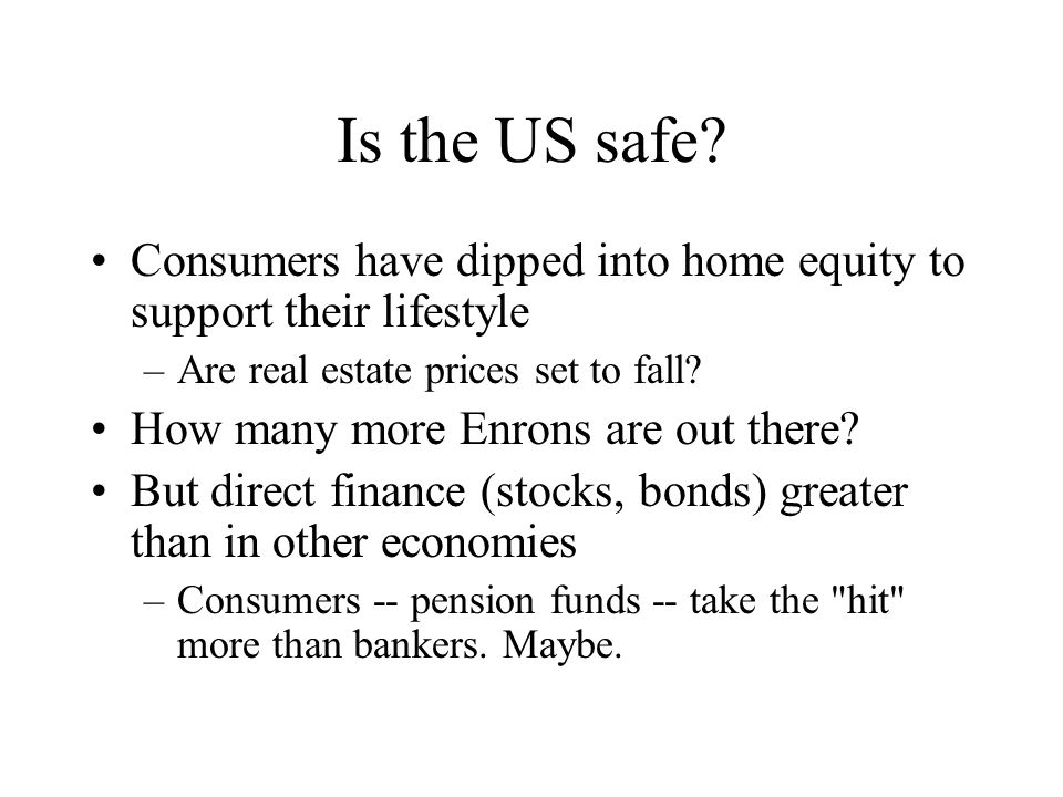 Is the US safe.