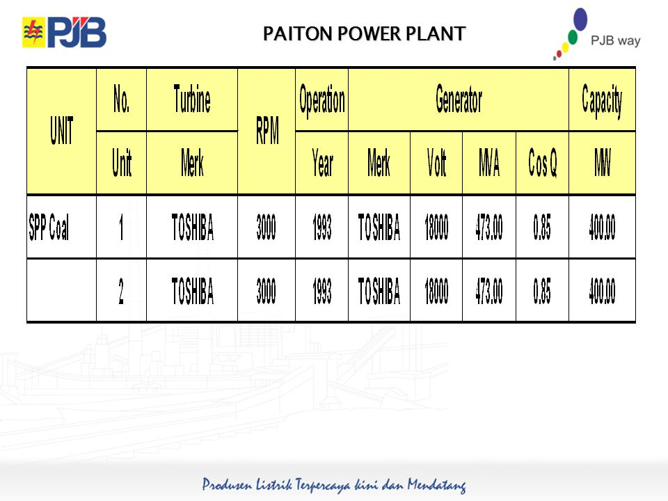PAITON POWER PLANT