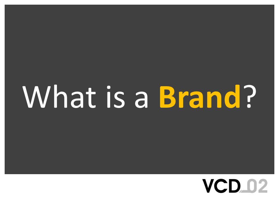 Very basically, a brand is a proprietary name for a product, service, or group ( group is used to denote a company, corporation, organization, social cause, etc) On a more multifaceted level a brand is the sum total of all functional and emotional assets of the product, service, or group that differentiate it among the competition