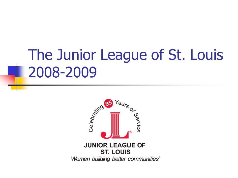The Junior League of St. Louis 2008-2009