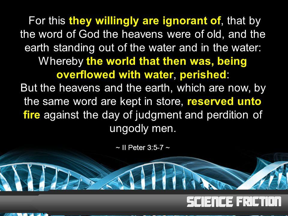 CREATION 6,000 YEARS AGO TODAY 4 THOUSAND B.C.FLOOD 4,400 YEARS AGO CHRIST 0 A.D.