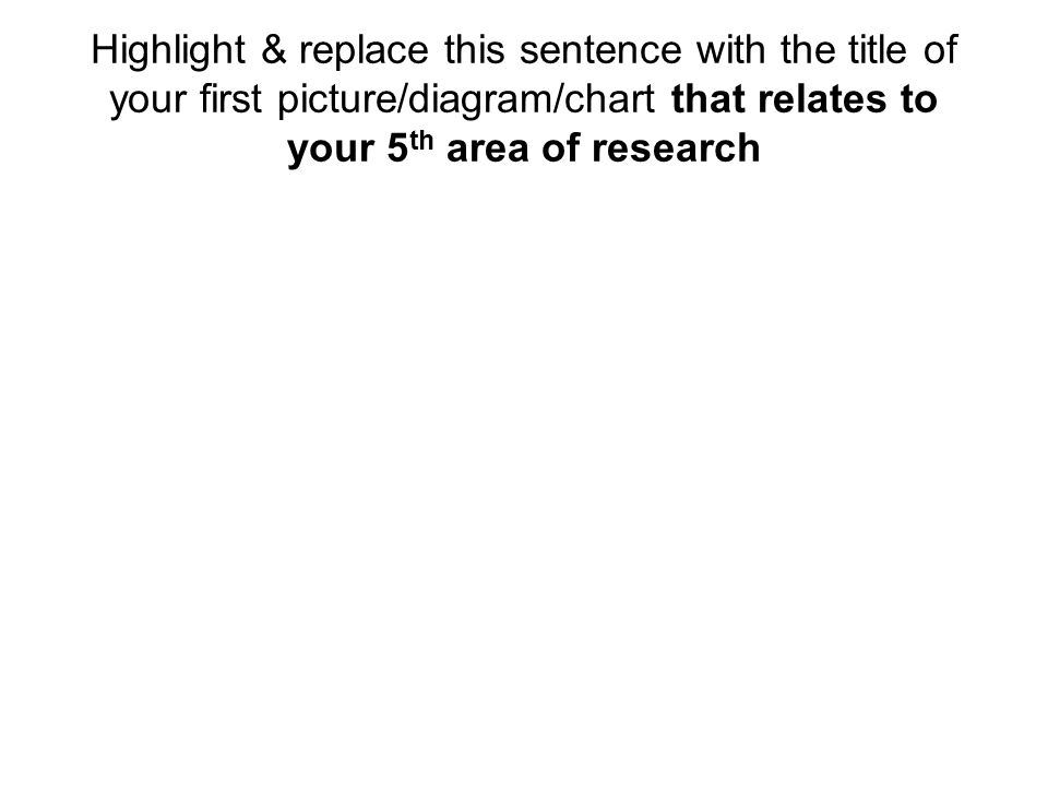 Hypothesis Highlight & write your hypothesis in the top of this area.