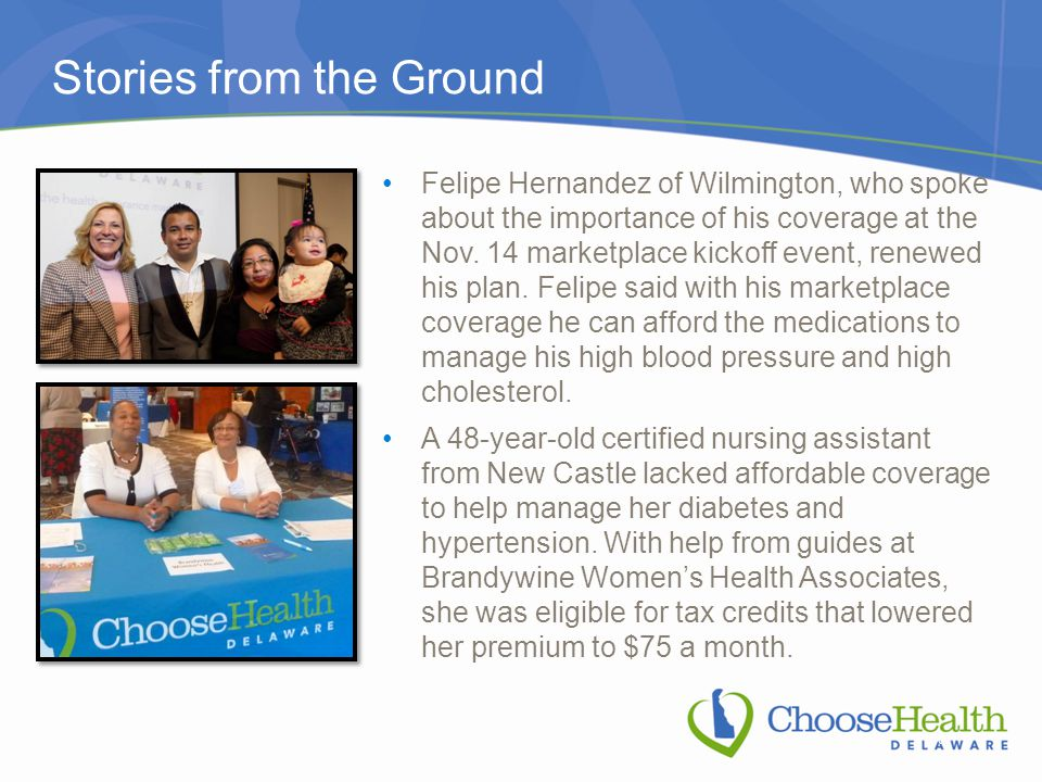 Stories from the Ground 6 Felipe Hernandez of Wilmington, who spoke about the importance of his coverage at the Nov.