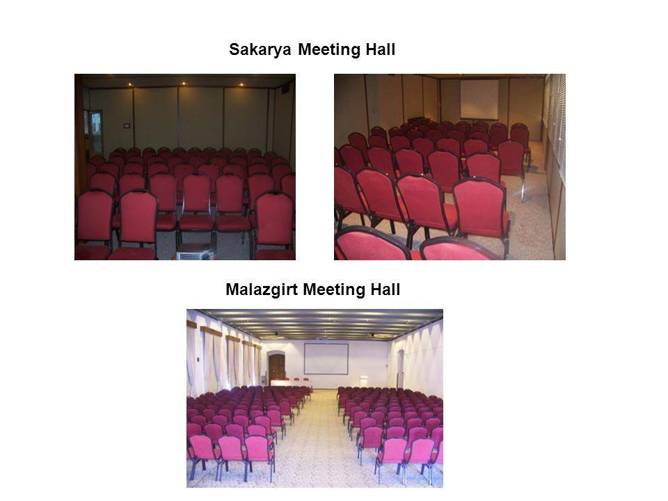 Sakarya Meeting Hall Malazgirt Meeting Hall