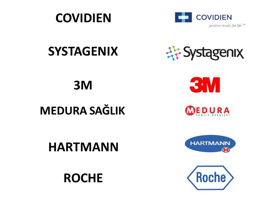 3M SYSTAGENIX COVIDIEN MEDURA SAĞLIK HARTMANN ROCHE