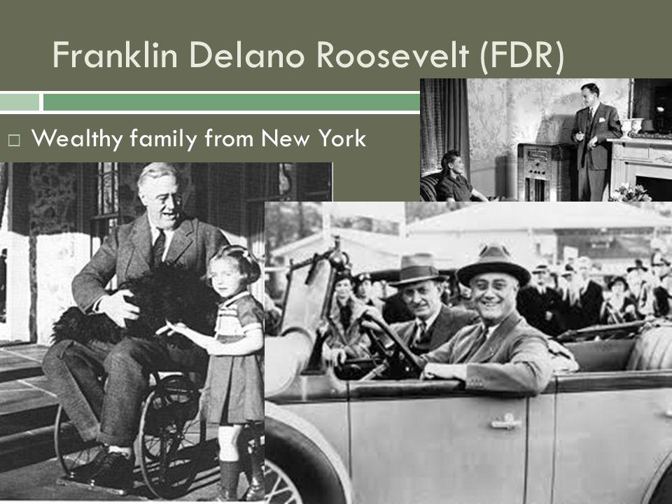Franklin Delano Roosevelt (FDR)