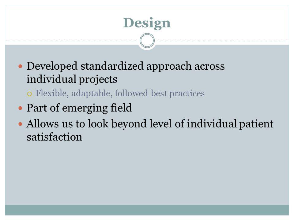FIONA WEBSTER, PhD Understanding patient experiences