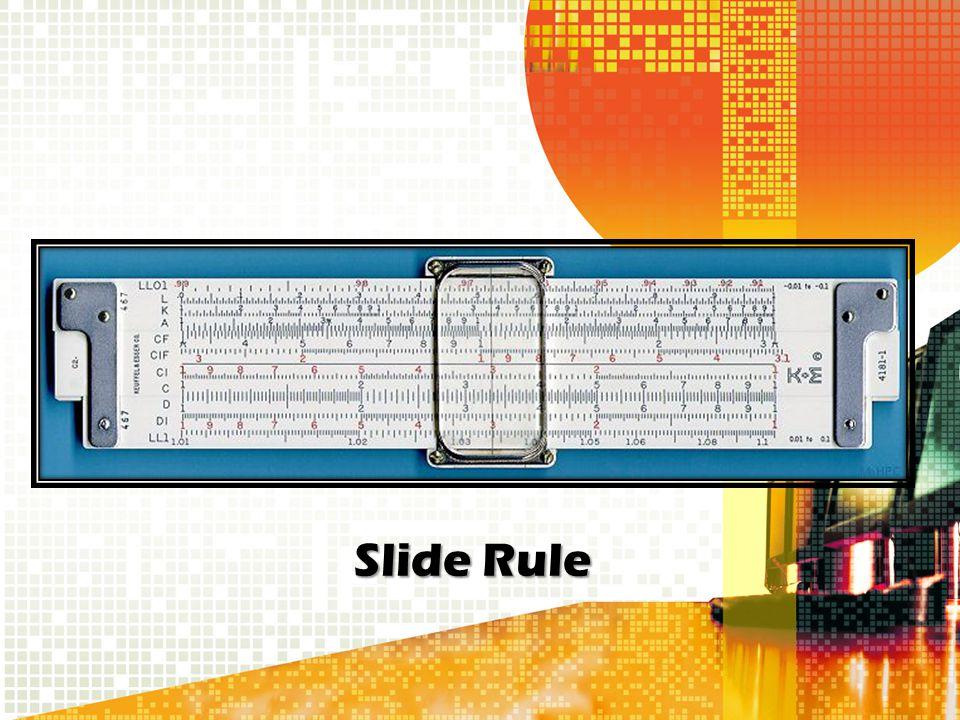 Slide Rule