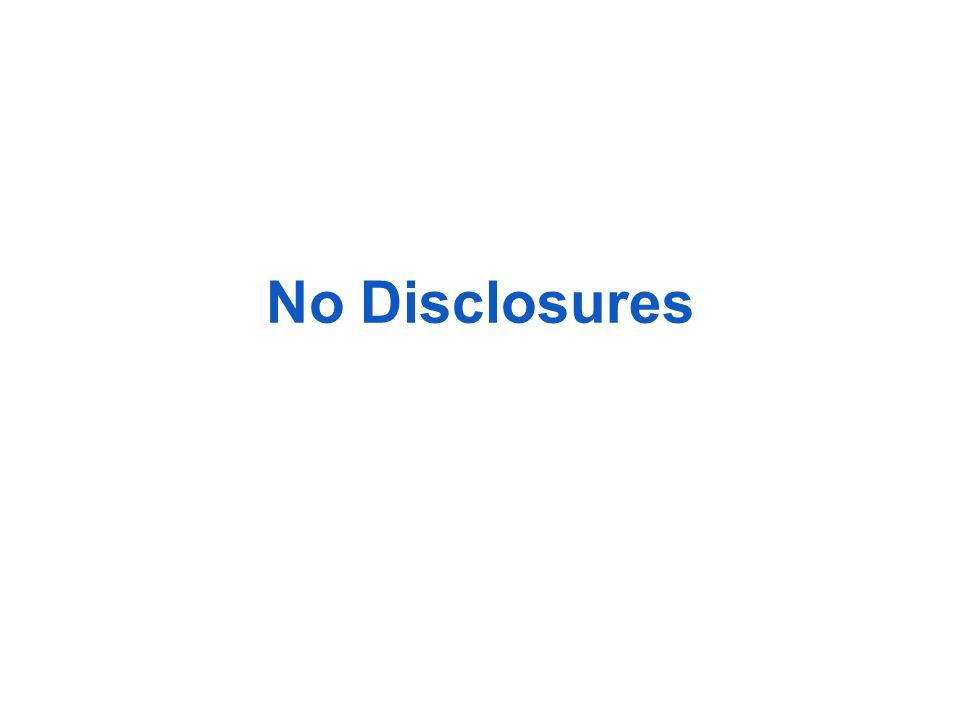 No Disclosures