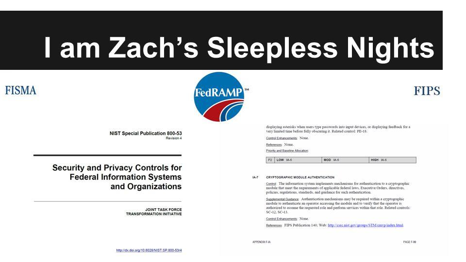 I am Zach's Sleepless Nights