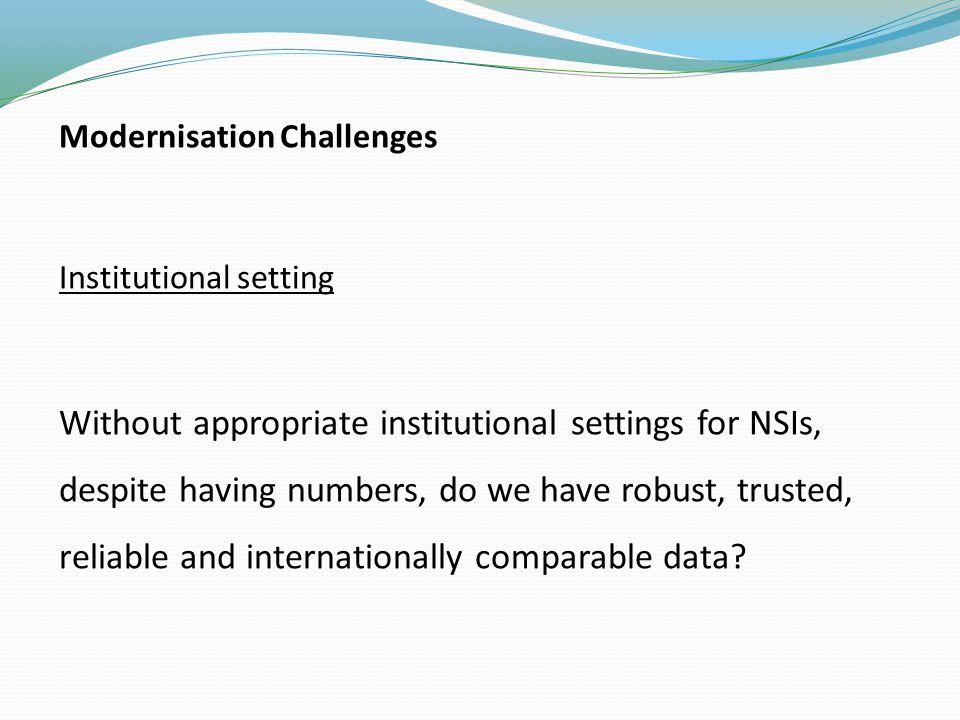 Statistical Framework Pillars Data Protection Freedom of Information (FOI) Statistical legislation Statistical legislation the starting point.