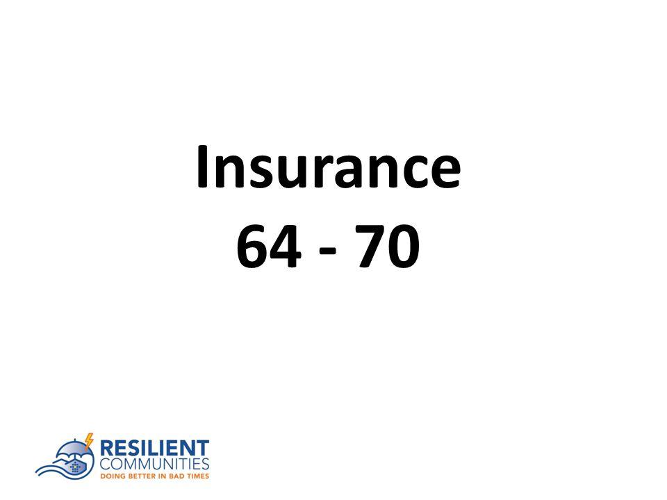 Insurance 64 - 70