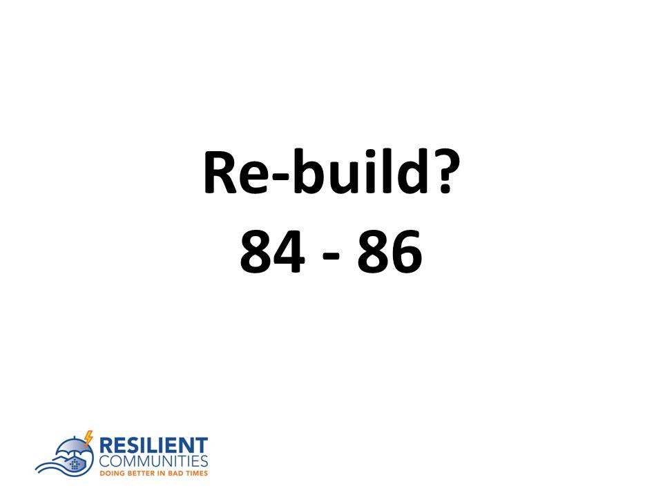 Re-build 84 - 86
