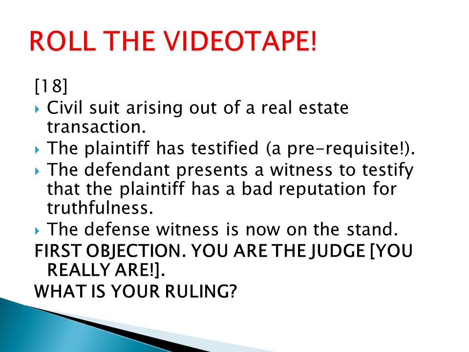 [18]  Civil suit arising out of a real estate transaction.