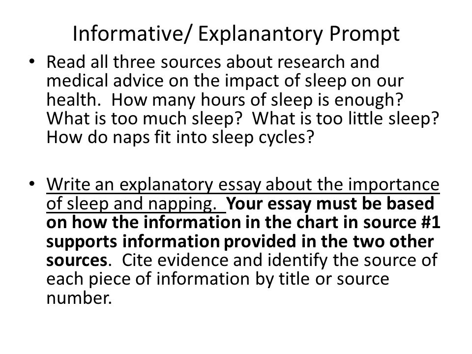 writing blitz points to remember begin by reading the  informative explanantory prompt all three sources about research and medical advice on the impact