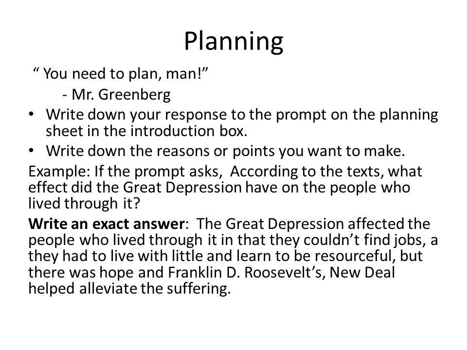 Sample Planning Sheet: Argumentative Essay