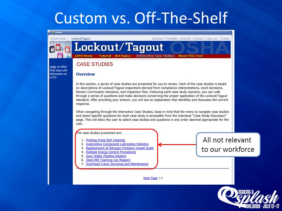 Custom vs. Off-The-Shelf Interactive!!