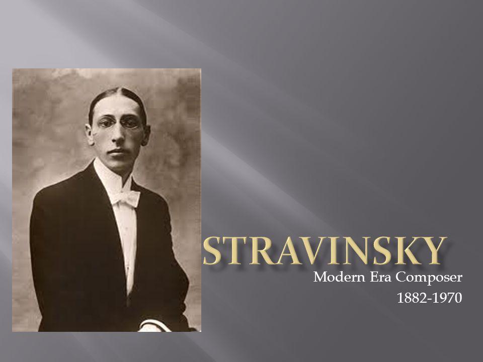 Modern Era Composer 1882-1970