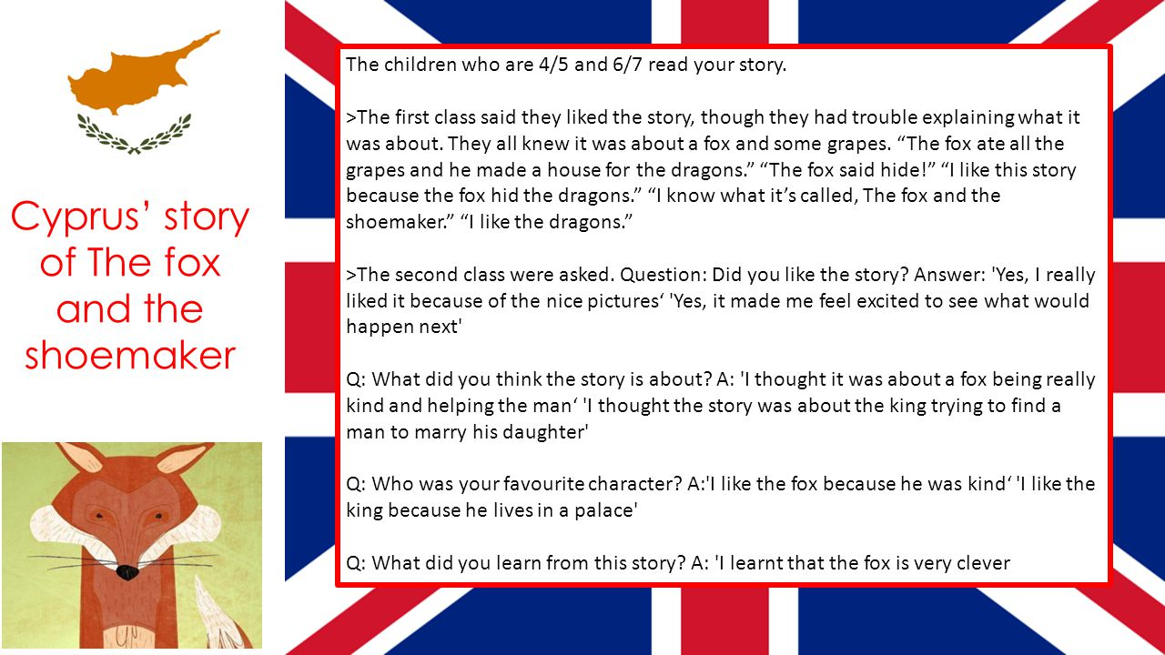 The children who are 4/5 and 6/7 read your story.