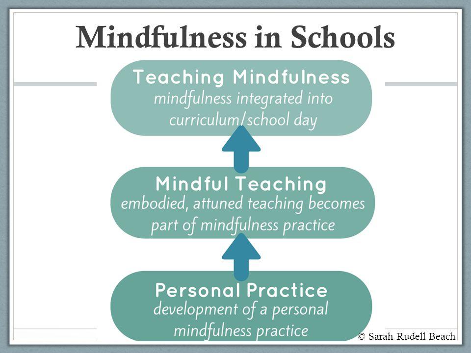 Mindfulness in Schools © Sarah Rudell Beach