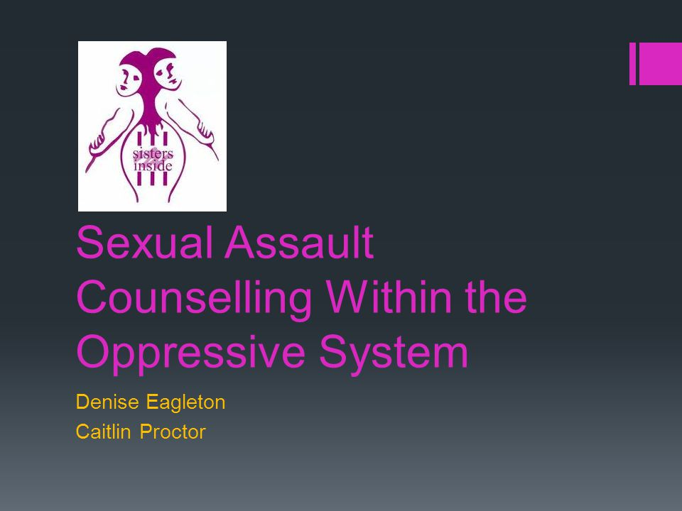 Sexual Assault Program  Two sexual assault counsellors  Established in 1994  89% of women in prison have experienced sexual assault
