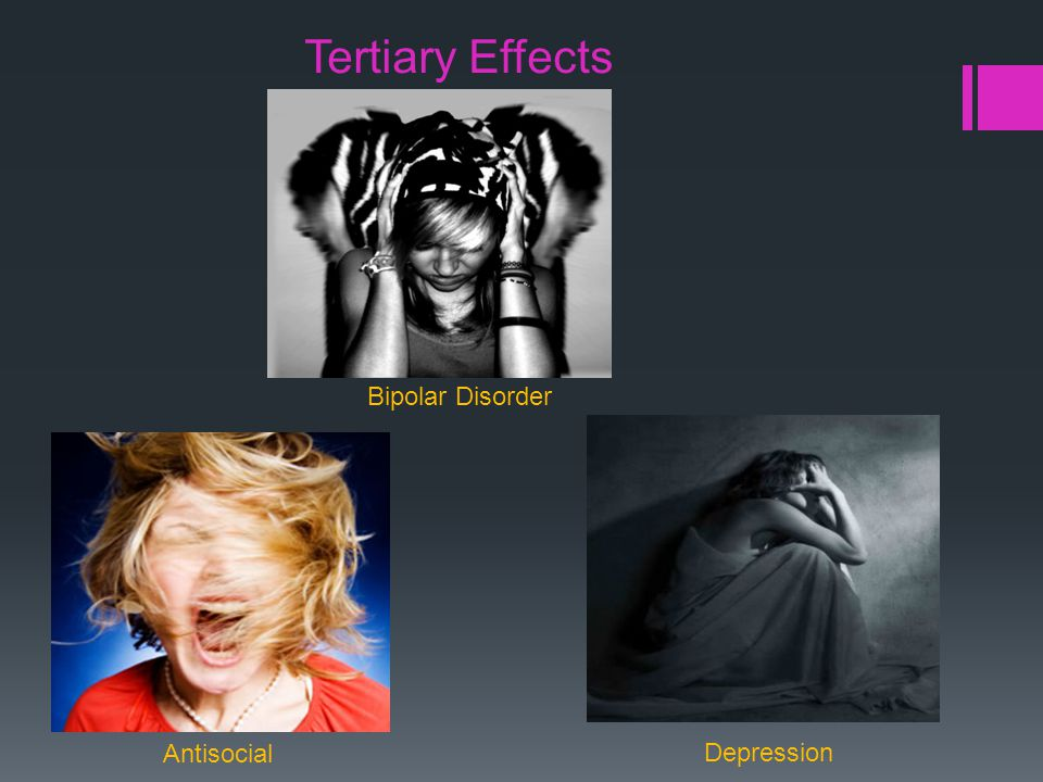 Tertiary Effects Bipolar Disorder Depression Antisocial